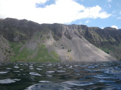 The famous Wasdale screes
