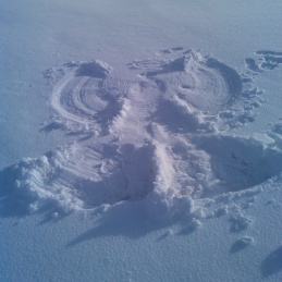 Snow Angel Howgills